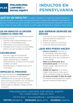 Pardon Flyer- Spanish